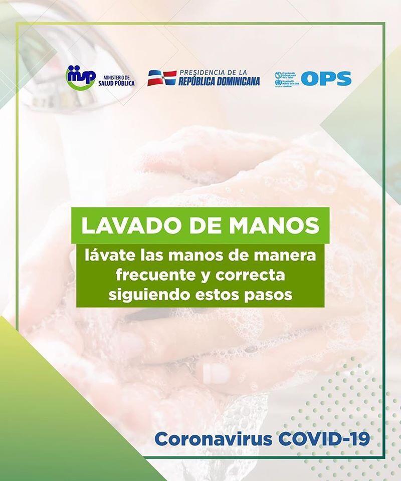 Recomendaciones para el Lavado de Manos y prevenir el Covid-19