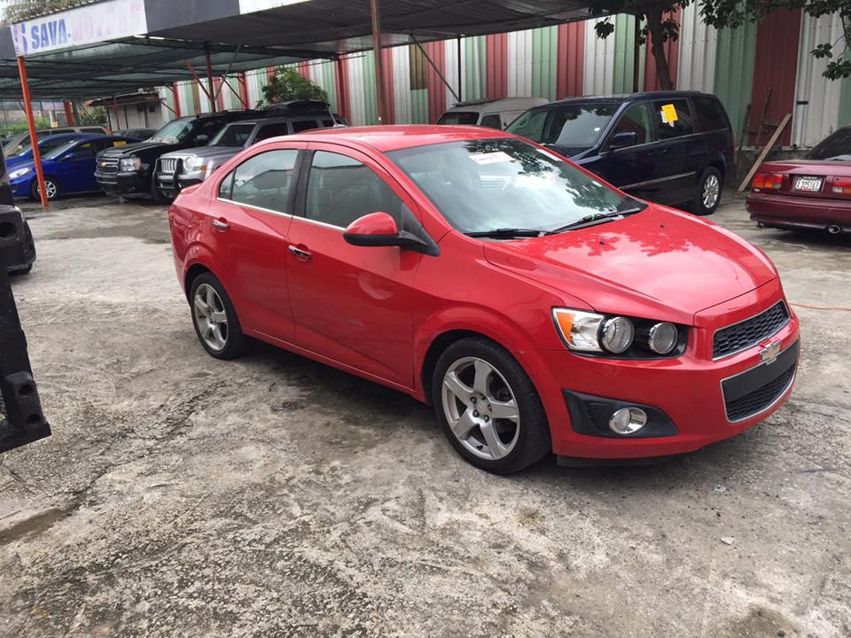 Venta de Chevrolet Sonic LTZ 2013
