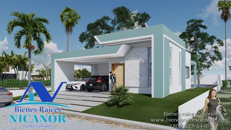 Casa en venta en el Residencial plantation en puerto plata