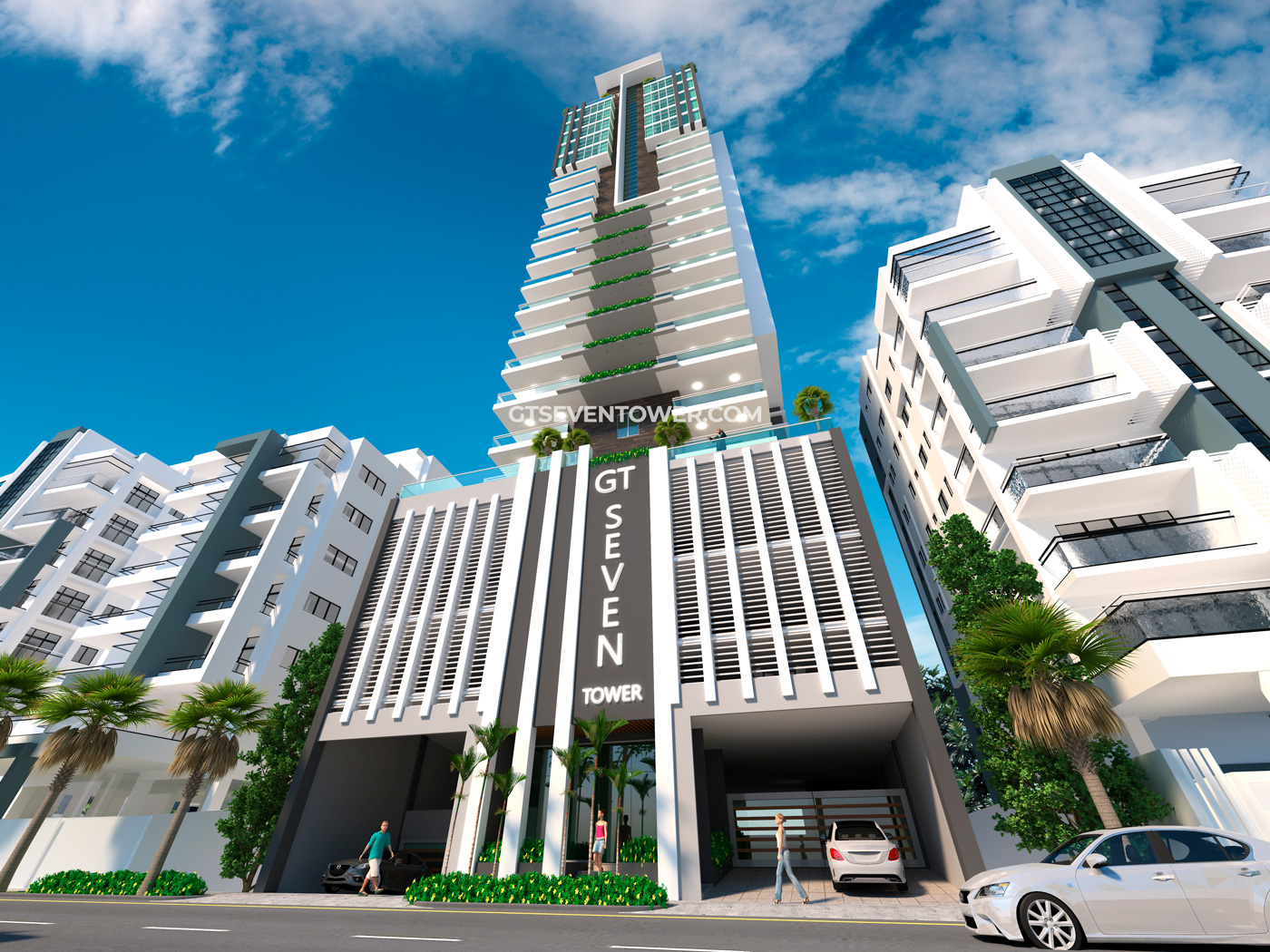Apartamentos en Alma Rosa I - GT Seven Tower