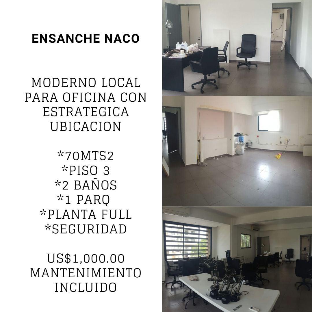 Alquiler de Local en Ensanche Naco.