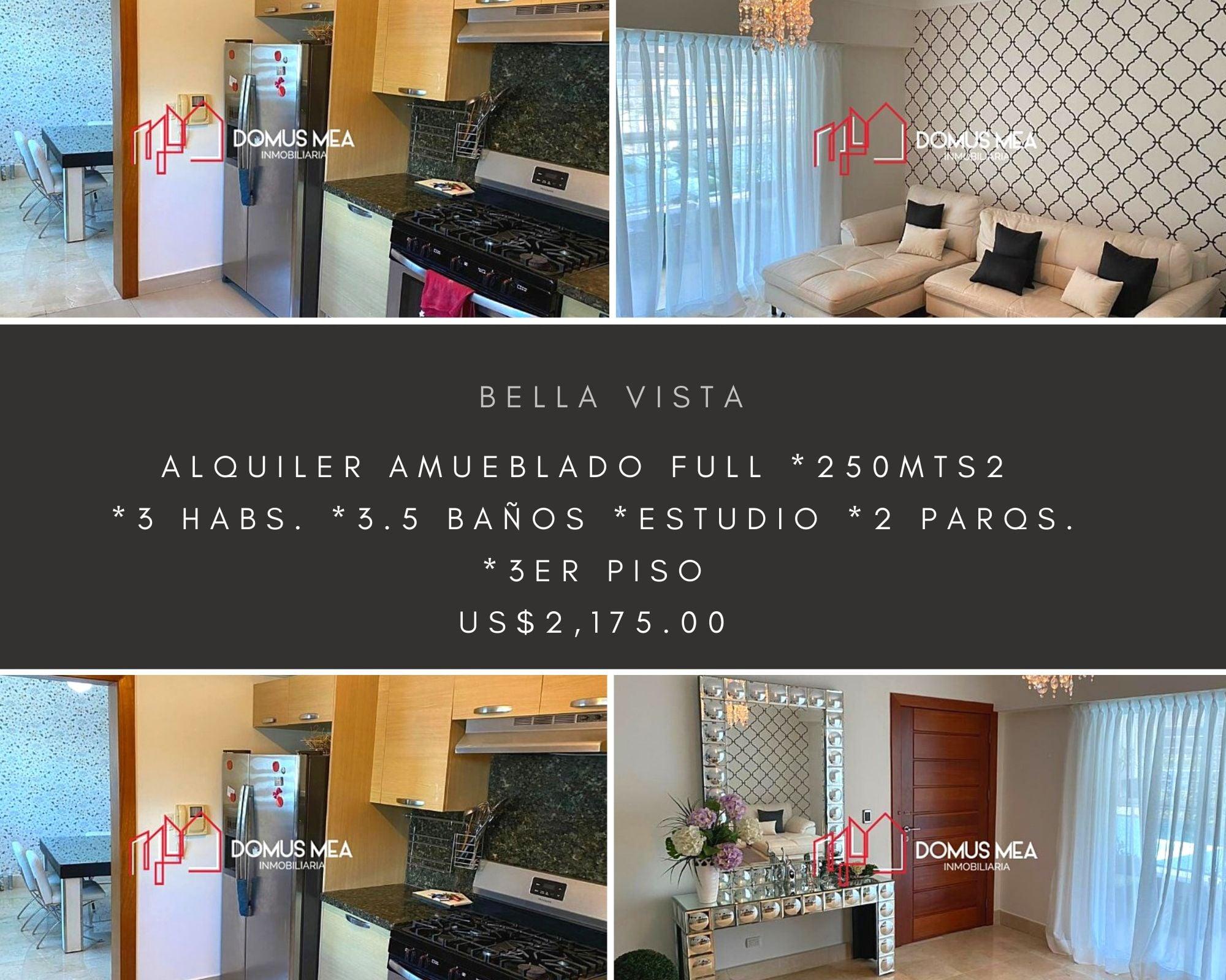 Alquiler de Apartamento en Bella Vista.