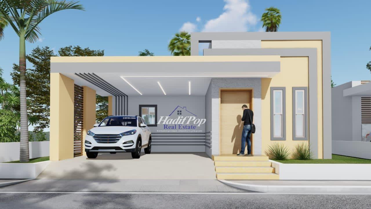 Casa estilo moderno y minimalista en venta, Puerto Plata