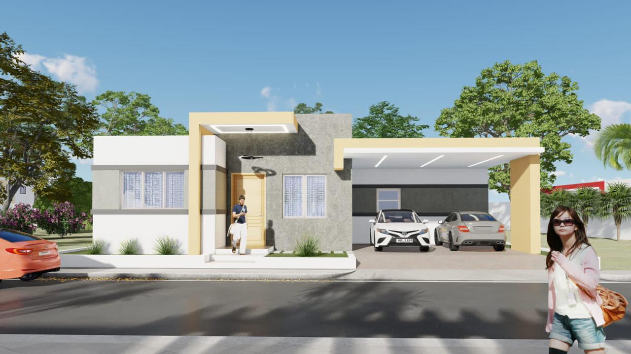 Casa estilo moderno y minimalista, Puerto Plata