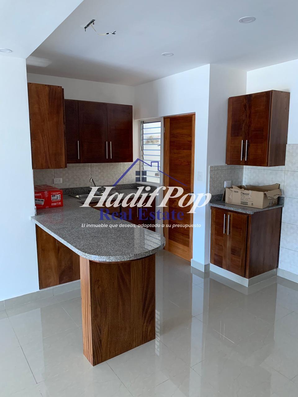 Nuevo apartamento de renta en 1er nivel, ubicado en residencial cerrado, Puerto Plata