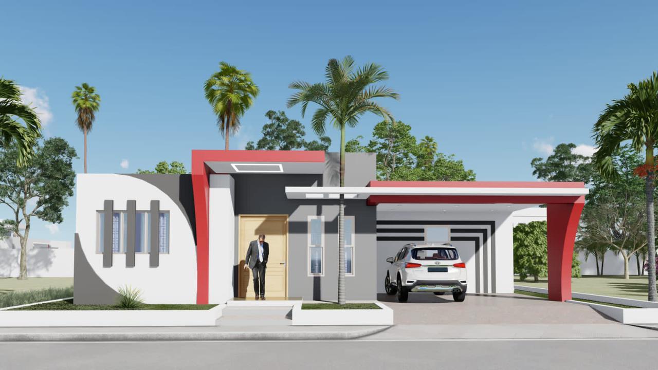 Moderna casa con estilo minimalista, Puerto Plata