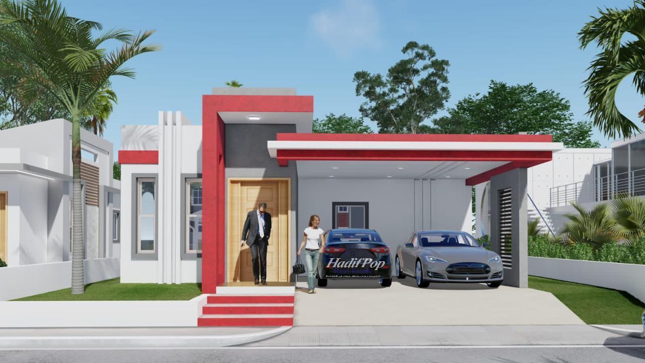 Casa estilo moderno y minimalista en urbanización, Puerto Plata