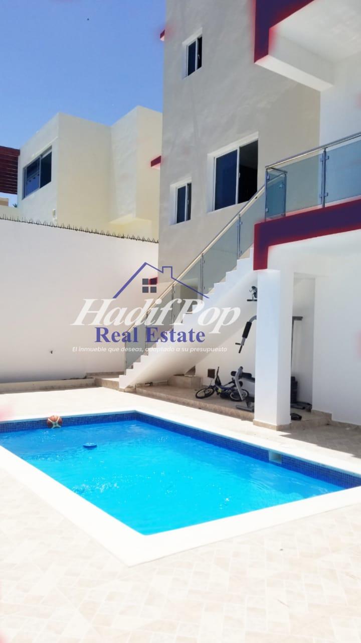 Moderna y amplia casa con piscina, de renta , Puerto Plata