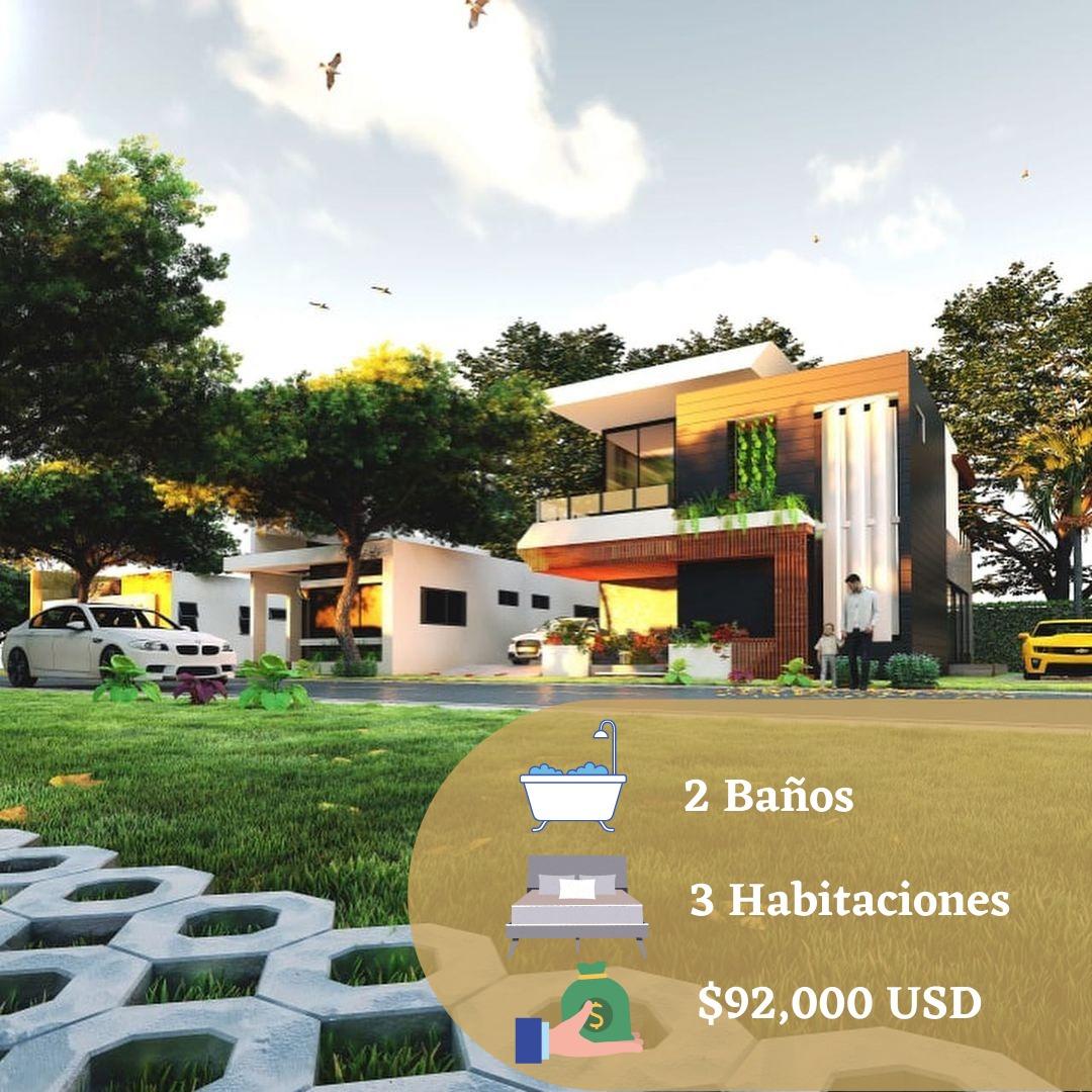Venta de Casas en Proyecto Residencial Niagara Beach, Punta Cana