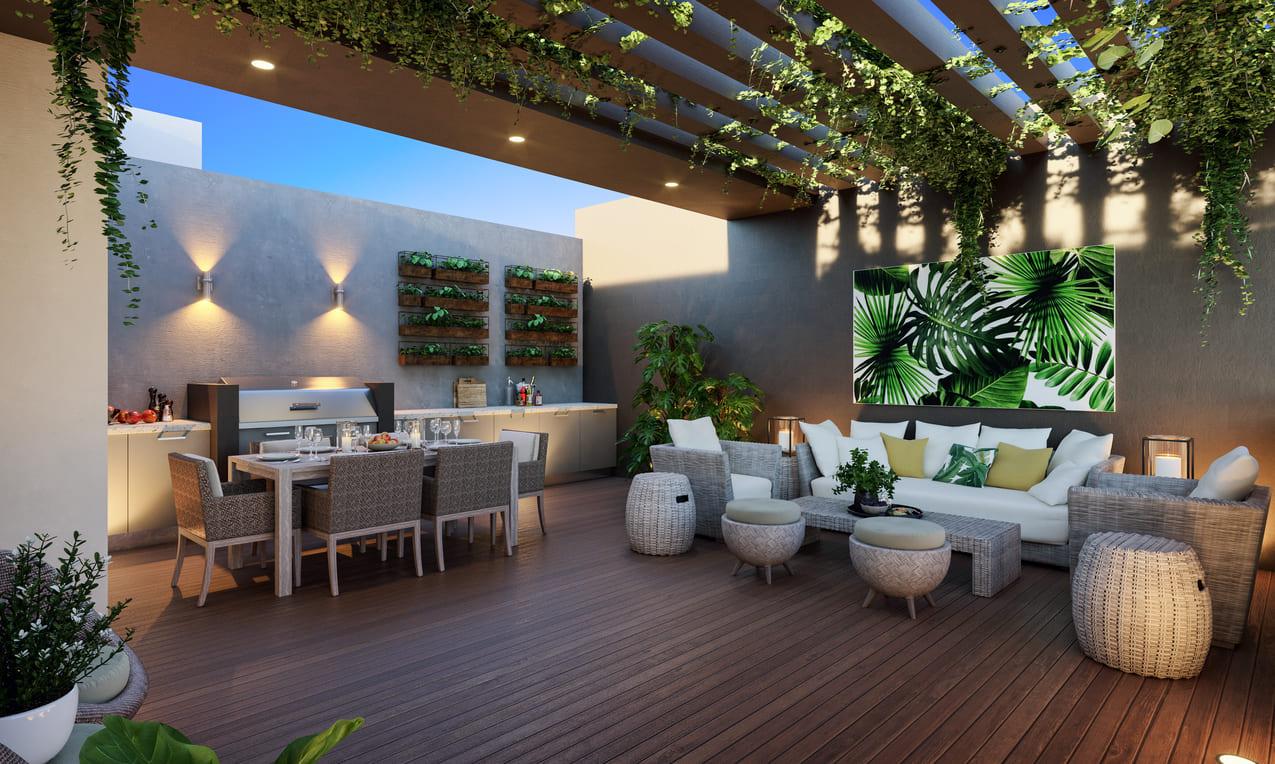 Apartamentos de 3 Habs en Santiago - Residencias Garden Life